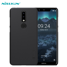 For Nokia 5.1 Plus Case NILLKIN Super Frosted Shield Matte Hard Plastic Case For Nokia X5 5.1 Plus Mobile Phone Back Covers аксессуар чехол для nokia 5 1 plus x5 2018 neypo soft matte dark blue nst6125