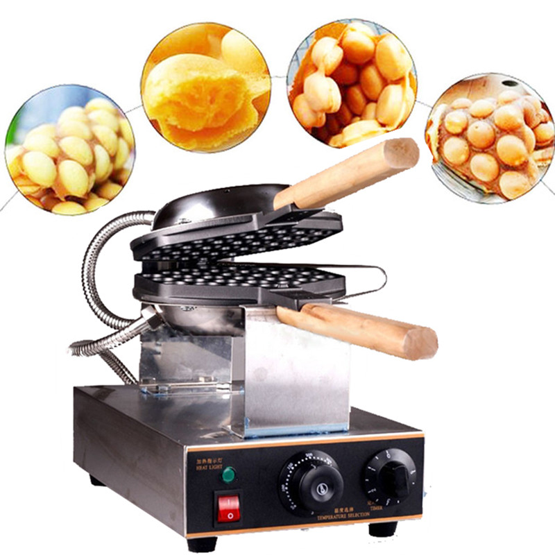 Best Price Donut Maker Commercial QQ Egg Cake Oven Egg Cake Baker Waffle Making Machine Egg Waffle Maker For wholesale 12psc lot egg waffle maker household type cake machine kitchen cooking donut maker free shipping by dhl