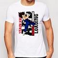 Nuevo Llega El Clásico de Anime Dragon Ball Z Super Saiyan Vegeta Impreso camiseta de Los Hombres/Boy Anime Manga Corta Tee Shirts Tops