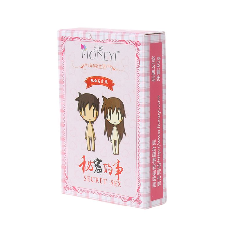 Couple Erotic Love Sexy Posture Adult Sex Poker Night Bar KTV Playing Card Game