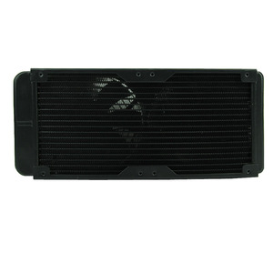 Image 3 - G1/4 240mm 2 Fans Radiator Computer Desktop Water Cooling Aluminum Thick 60mm  Drop Shipping
