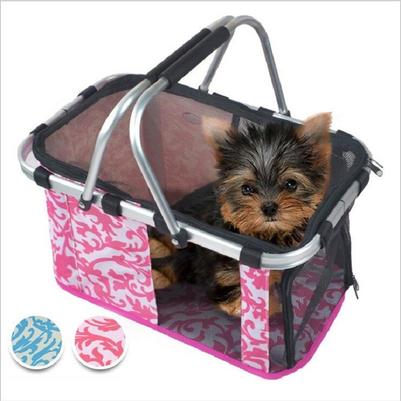 Foldable/Anti-rust Pet Carrier Cat Chihuahua Carrier Bag Carry Hand Tote Dog Bag Totoro Puppy Cat Bag Carrier Carry Carrier