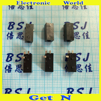 500pcs DC-022B 5.5*2.1mm 2-Pin Power Socket with Nut 2-Pin Receptacle
