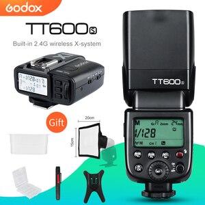 Image 1 - Godox TT600s HSS GN60 2.4G Camera Flash Speedlite + X1T S Transmitter for Sony A7 A7S A7R A7 II A6000 A58 A99