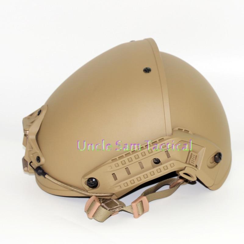 Casco táctico AF precisión ejército combate entrenamiento casco de paintball airsoft versión mejorada