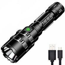 TinhoFire L2 5 Режимов 1600 люмен USB Перезаряжаемый водонепроницаемый уличный охотничий светодиодный светильник 18650 переносная на длинное расстояние светильник