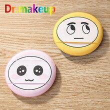 Cosmetic Funny Cartoon Emoticon Beauty Puff Hydrophilic BB Cream Sponge Powder Pink Face Foundation Wholesale
