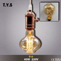 Ampoule Vintage Edison Bulb E27 Incandescent Filament Decorative Light Bulb 40w 220V Lampada Retro Lamp Christmas