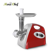 ITOP Electric Meat Grinder Chopper & Sausage Stuffer Household Mincing Machine Kitchen Food Processors 80KG/H