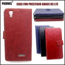 Casteel Classic Flight Series high quality PU skin leather case For Prestigio Grace R5 LTE PSP5552DUO Case Cover Shield