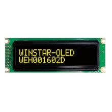 16x2 COB OLED дисплей символов 3,3 5 в SPI серийный параллельный порт драйвер WS0010 скандинавский Европейский кириллический русский шрифт