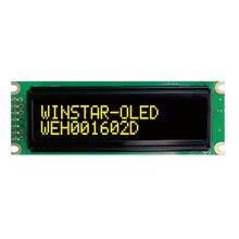 16x2 cob oled character display 3.3 5 v spi serial porta paralela driver ws0010 escandinavo europeu cirílico russo fonte