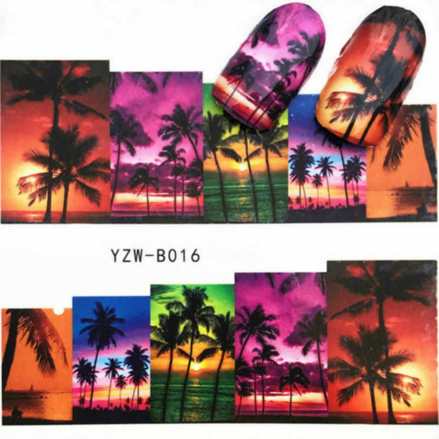 LOLEDE Sunset Beachสีเล็บเล็บเล็บArt Glitter Flakes UV Gel Starหัวใจดอกไม้Pailletteตกแต่งเครื่องมืออุปกรณ์เสริม 1004