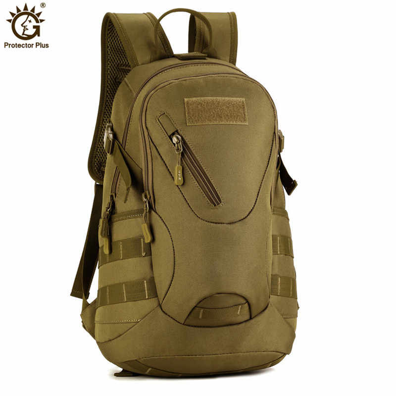 Military Army Tactical Backpack 20L Small Backpack Waterproof Nylon Travel Backpack Rucksack for Hike Trek Camouflage Backpack