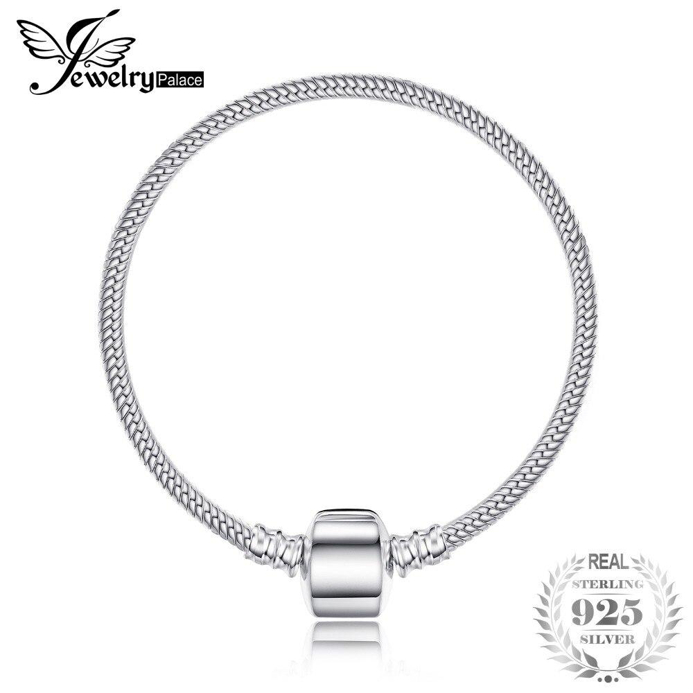 Jewelrypalace 925 пробы серебро браслет на застежке Jewelry Для женщин Юбилей подарок для нее Для женщин подруга новое поступление