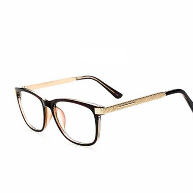 b8f4e1f1f04cd Marcos De anteojos Retro hombres mujeres claro diseñador gafas marco óptico  De gafas Armação para Oculos