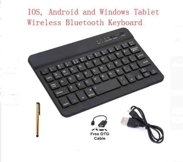 بلوتوث لوحة المفاتيح الكرتون حالة ل تابلت عالمي 9.7 بوصة 10 بوصة 10.1 بوصة حامل الكمبيوتر الشخصي والكمبيوتر اللوحي المغناطيسي بو أغطية جلد