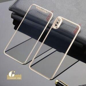Image 5 - Przód + tył szkło hartowane dla iPhone X pełny ekran ochrona wymiana skrzynki pokrywa dla Apple iPhone 11Pro Max XS Max XR
