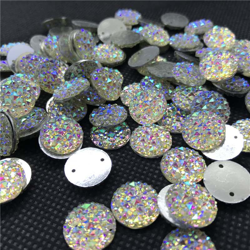 20pcs Sew On 9x18mm navette D claw crystal cabochons cut glass point back DIY