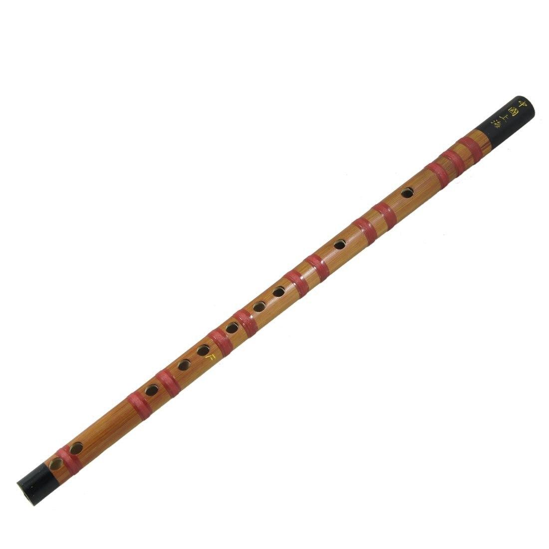 8Pcs 18.5 Long Music Instrument Soprano F Chinese Dizi Bamboo Flute
