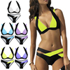 2017 New Hot Sale Sexy Women Bikini Set Bandage Push Up Padded Swimwear Hollow Out Swimsuit