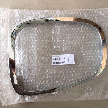 Original Rear Taillight light Frame Chrome Strip Decoration For MINI Cooper One S F55 F56 F57 OE#63217351431 Car Accessories