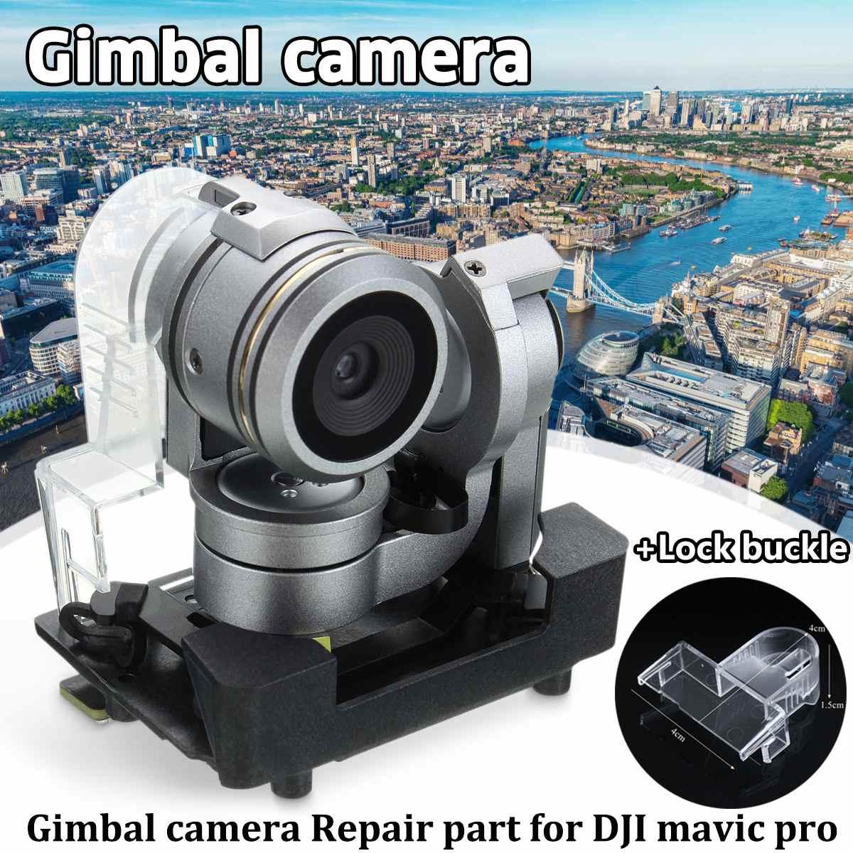 4 K caméra cardan pour Original DJI Mavic Pro Drone pièces de rechange FPV RC quadrirotor accessoires de remplacement + support boucle de verrouillage