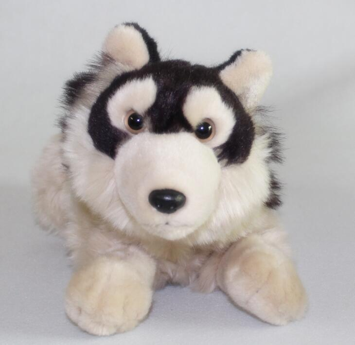 Stuffed Toy Simulation Prairie Wolf  Doll  Plush Animals Toys  Children  Gifts plush big toy animals simulation hedgehog doll cute queen stuffed toys for children christmas gift pillow good quality