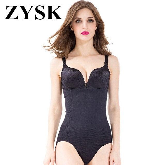 e08a219e8e9 ZYSK Body Shaper Women Slimming Shapewear High Elastic Waist Shaper Corset  Female Breathable Control Panties Pulling Underwear