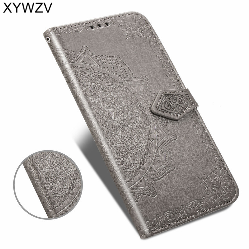 Image 4 - For LG Q60 Case Shockproof Cover Luxury Flip Wallet Soft Silicone Phone Case Card Holder Fundas For LG Q60 Back Cover For LG Q60-in Flip Cases from Cellphones & Telecommunications