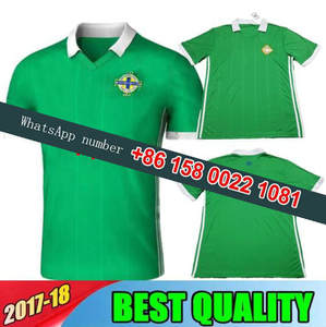 2018 world cup Northern Ireland soccer Jersey camiseta de futbol Tuaisceart  Eireann McNAIR K.LAFFERTY DAVIS Football shirts cac507dfd