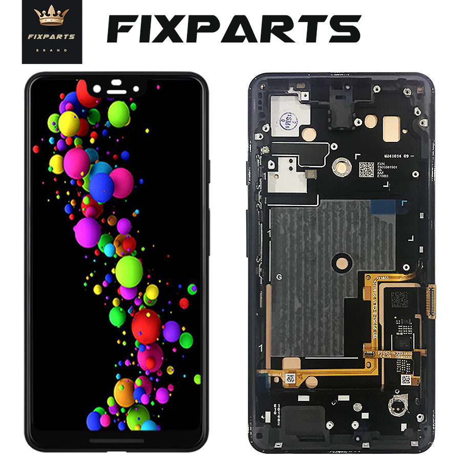 6.3 OLED LCD Google Pixel 3 XL LCD Display Touch Screen Digitizer Assembly + Frame Replacement 5.5 Google Pixel 3 LCD Display