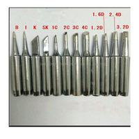 Freeship DHL 100pcs Lot Lead Free Solder Iron Tip 900M T For 936 SAIKE ATTEN AOYUE