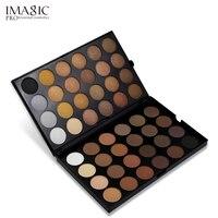 Marka 48 Kolory Mienią IMAGIC i Matowy Smoky Eye Shadow Nude Naturalne Wodoodporne Pigmenty Minerals Eyeshadow Paleta