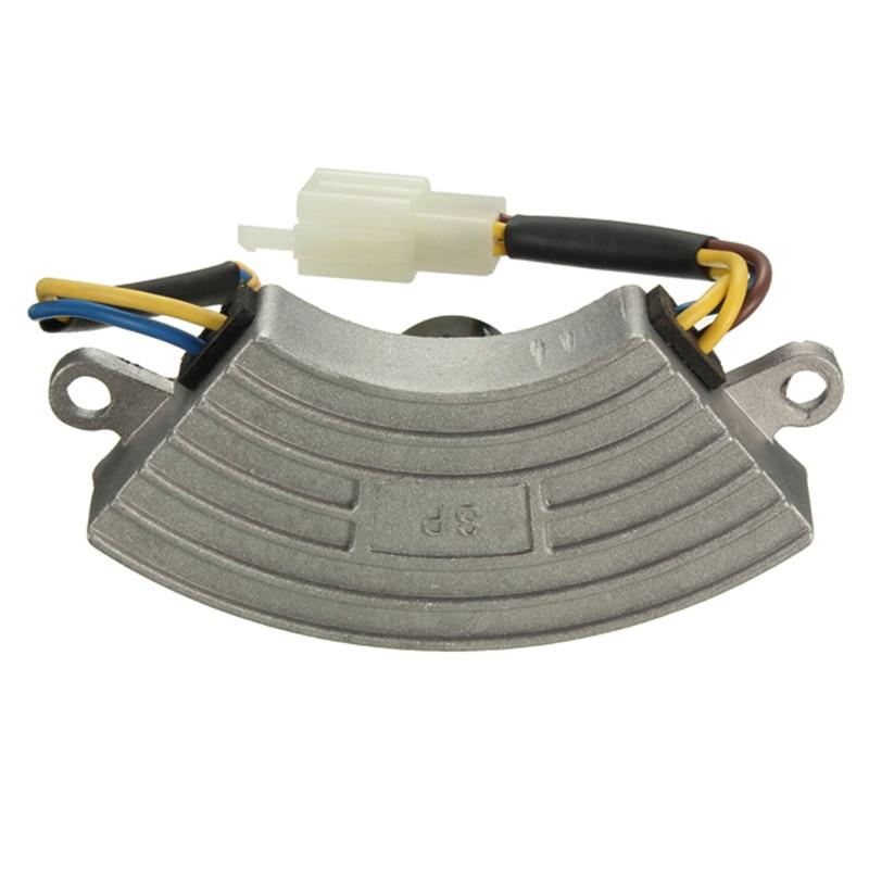 Newest Grey Single-phase 2KW Automatic Voltage Regulator Petrol Generator AVR Aluminum Shell Hot Sale