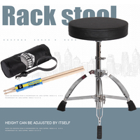 15%,Folded stainless steel Drum stool single erhu electronic drum metal piano stools keyboard electric steel lifting rack stool
