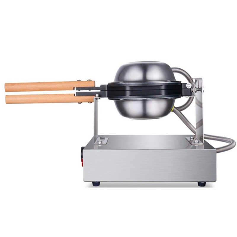 220 V/110 V 商用中国香港 eggettes パフケーキバブルワッフルパン鉄メーカー機バブル卵ケーキオーブン