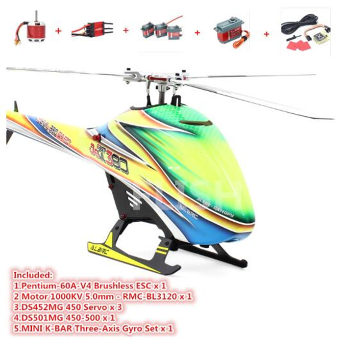 ALZRC - Devil 380 FAST TBR Super Combo -  RC Helicopter alzrc devil 450 pro v2 fbl super combo rc helicopter kit rc electric helicopter 480n frame kit power driven helicopter drone