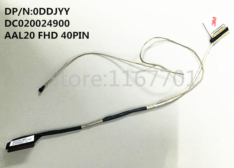 Original Laptop/notebook Screen Lcd/led/lvds Flex Cable For Dell 15-5558 5559 3558 5551 5555 Dc020024900 Aal20 40p Fhd 0ddjyy Computer & Office