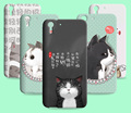 3d cat silicone soft case para htc desire eye 728 826 820 828 830 fanny animais dos desenhos animados tpu capa para htc desire 825 820