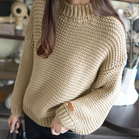 Women pullover sweater Korean style 2018 autumn and winter female loose sweater teenage girls knitted top fashion