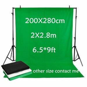 Image 5 - Allenjoy écran vert Chromakey portrait photographie keying toile de fond non tissé tissu professionnel pour Studio Photo