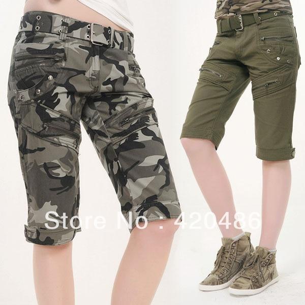 Popular Womens Camo Cargo Shorts-Buy Cheap Womens Camo Cargo ...