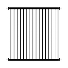 53 64cm Window Guardrail free installation Perforation Free Children Window Security Fence window safety iron black