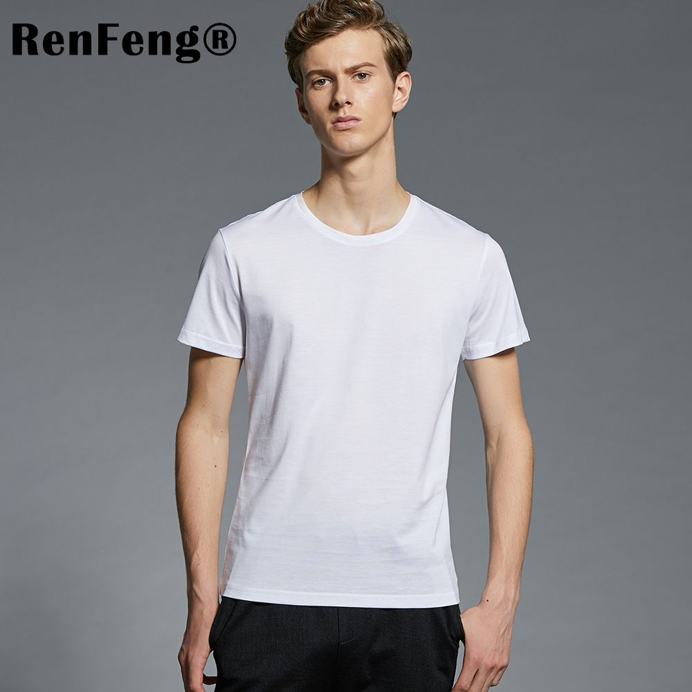 Men's Ice Silk Undershirts tshirt Compression Singlet Underwear Breathable Man Vest Bottoming shirts Men Camiseta Masculina (7)