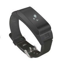 Модные A9 Смарт Браслет Bluetooth Обсуждение гарнитура браслет с Шагомер музыка сна Мониторы для Android IOS Телефон