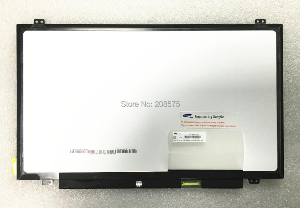 Free shipping ! LTN140KT14 LTN140KT14-201 14.0 inch slim Laptop LCD Screen 1600*900 EDP 30pins free shipping brand new 14 inch laptop lcd led screen b140qan01 b140qan01 1 2560 1440