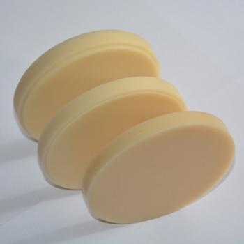 7pcs/lot 98*16 denture materials CAD CAM PMMA blocks dental resin milling disc for dental temporary bridge