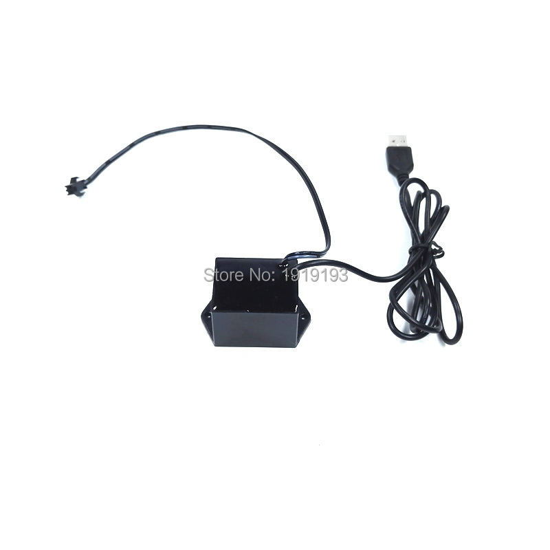 1PCS DC-5V USB EL wire driver for loading EL wire and EL strip for holiday lighting decoration powered by Mobile battery