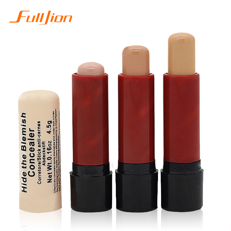Moisture Hide Blemish Silky Liquid Cream Concealer Lip / Dark Eye Circle Cover Concealer Stick Long Lasting for girls makeup